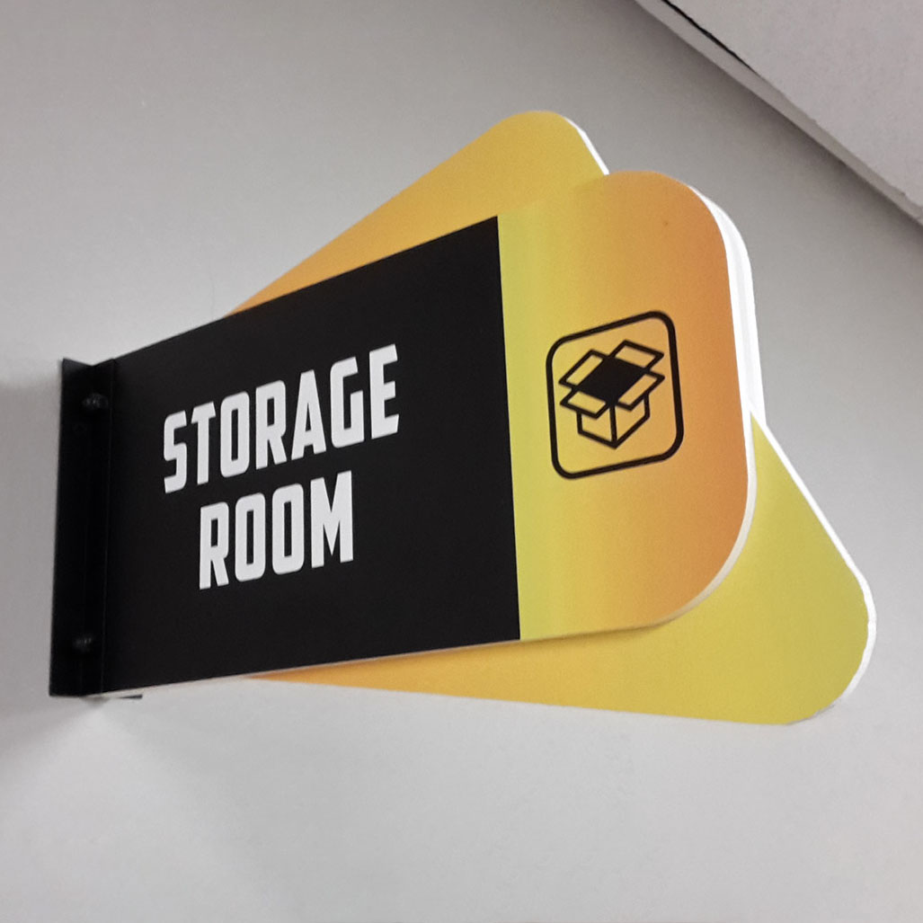 Cantilever Room Sign
