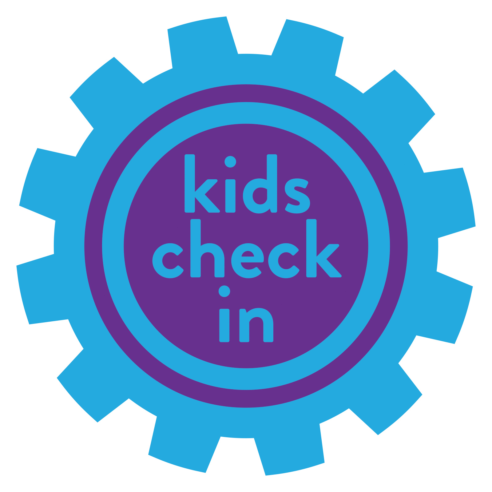 Kid's Check-In Sign - Gear