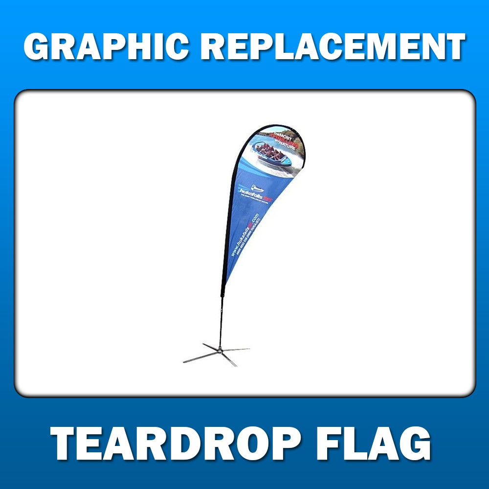 Teardrop Flag - Graphic Replacement