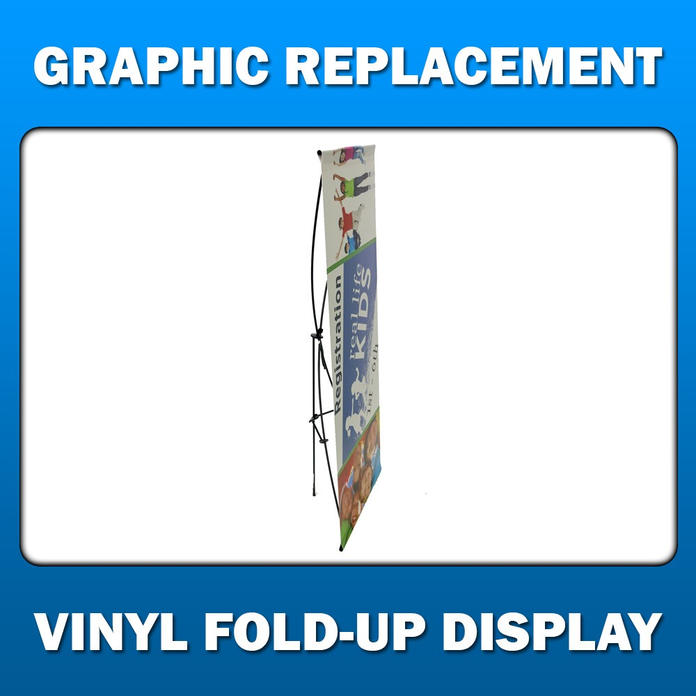 Vinyl Fold-Up Display - Graphic Replacement