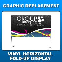 Horizontal Fold-Up - Graphic Replacement