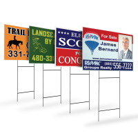 Yard Signs - 4mm Corrugated Plastic