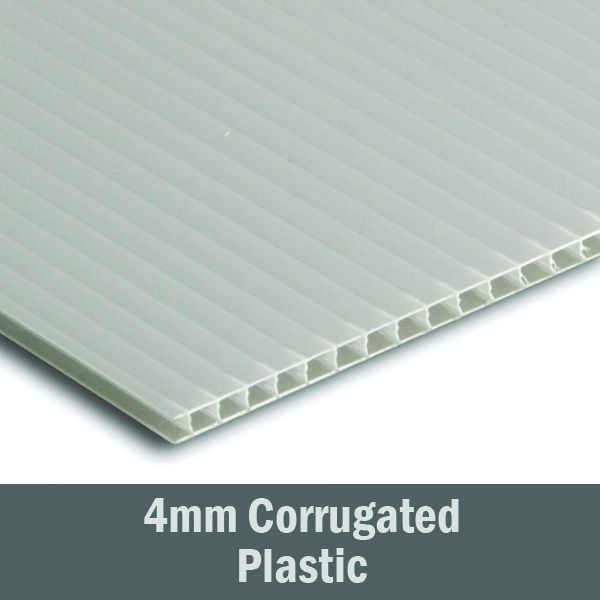 24in x 6in - 4mm Corrugated Plastic Sign