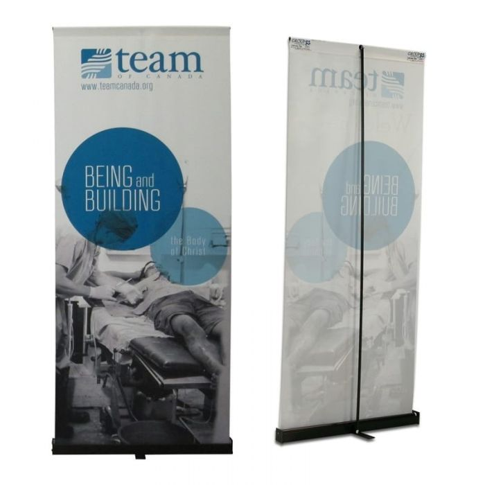 1.5ft x 4ft  Roll-Up Cloth Display