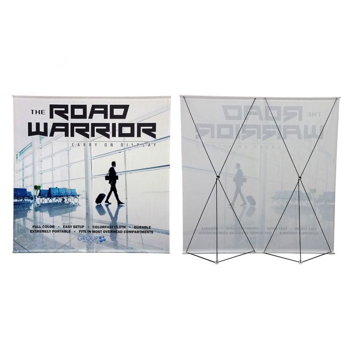 25ft x 8ft  Fold-Up Cloth Display