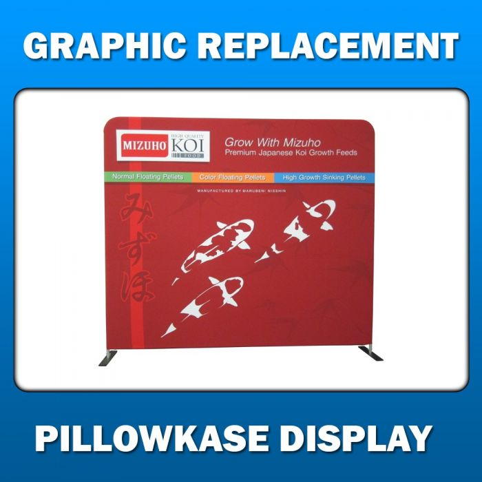 2ft x 6ft  Pillowkase Display - Graphic Replacement