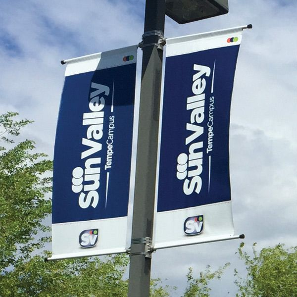 2.5ft x 10ft - Pole Banners
