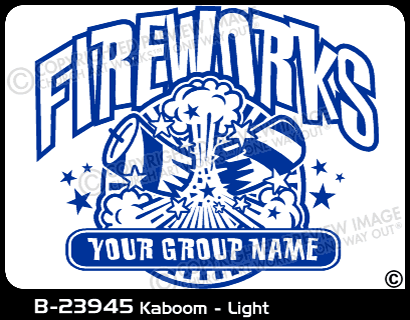 B-23945 - Kaboom - Light - Apparel Template