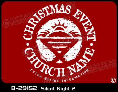 B-29152 - Silent Night 2 - Apparel Template