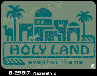 B-29817 - Nazareth 2 - Apparel Template