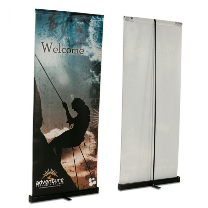 4ft x 9ft  Roll-Up Vinyl Display