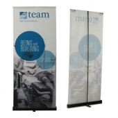 4ft x 10ft  Roll-Up Cloth Display