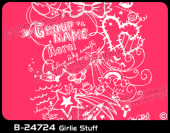 B-24724 - Girlie Stuff - Apparel Template