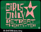 B-24726 - Girls Only - Apparel Template