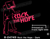 B-24749 - Rock the Hope - Dark - Apparel Template