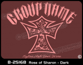 B-25168 - Rose of Sharon - Dark - Apparel Template