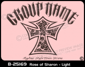 B-25169 - Rose of Sharon - Light - Apparel Template
