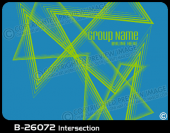 B-26072 - Intersection - Apparel Template