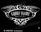 B-26102 - Unleashed - Apparel Template
