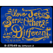B-27549 - Be Different 2 - Apparel Template
