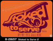 B-28217 - Stoked to Serve 2 - Apparel Template