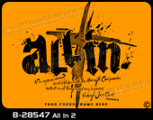 B-28547 - All In 2 - Apparel Template