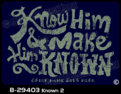 B-29403 - Known 2 - Apparel Template