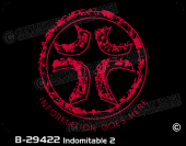 B-29422 - Indomitable 2 - Apparel Template