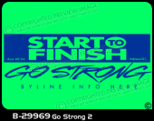 B-29969 - Go Strong 2 - Apparel Template