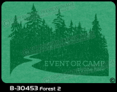 B-30453 - Forest 2 - Apparel Template