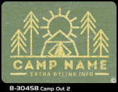 B-30458 - Camp Out 2 - Apparel Template
