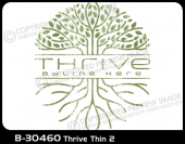 B-30460 - Thrive Thin 2 - Apparel Template