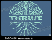 B-30461 - Thrive Bold 2 - Apparel Template