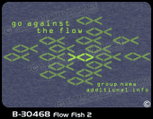 B-30468 - Flow Fish 2 - Apparel Template
