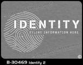 B-30469 - Identify 2 - Apparel Template