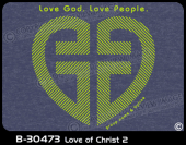 B-30473 - Love of Christ 2 - Apparel Template