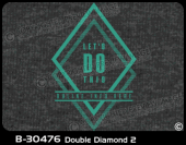 B-30476 - Double Diamond 2 - Apparel Template
