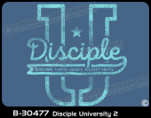 B-30477 - Disciple University 2 - Apparel Template