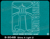B-30481 - Shine A Light 2 - Apparel Template