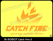 B-30807 - Catch Fire 2 - Apparel Template