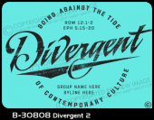 B-30808 - Divergent 2 - Apparel Template