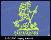 B-30810 - Happy Hiker 2 - Apparel Template