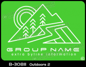 B-30811 - Outdoors 2 - Apparel Template