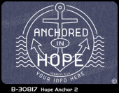 B-30817 - Hope Anchor 2 - Apparel Template