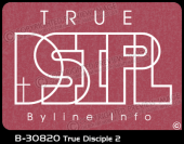B-30820 - True Disciple 2 - Apparel Template