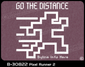 B-30822 - Pixel Runner 2 - Apparel Template