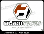 C-22632 - A - Alien Youth - Apparel Template