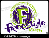 C-22678 - F - Freestyle - Apparel Template