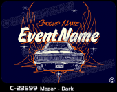 C-23599 - Mopar - Dark - Apparel Template