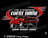 C-23602 - Pony Power - Apparel Template